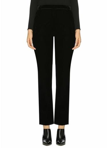 Ba&Sh Boru Paça Kadife Pantolon Siyah